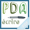 PDA - écrire (1er cycle)
